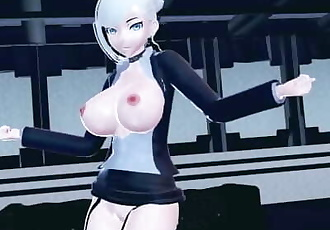 MMD SEX RWBY Big Breasted Winter Schnee Dances In Chung Ha