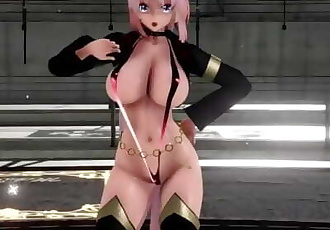 MMD SEX Meiko Luka Haku In Micro Bikinis - Step