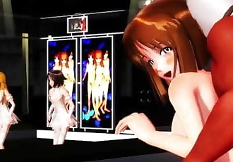 MMD SEX Multitasking A Stage Performance And A Nookie