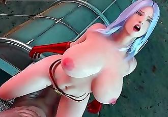 Thanos Fucks Captain Marvel - The Lust Avenger by Amusteven