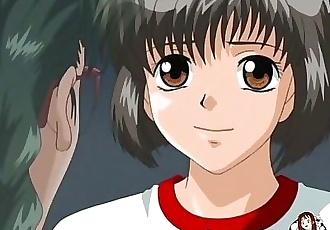 Hentai.xxx - Little schoolgirl gets fucked in class by her teacher