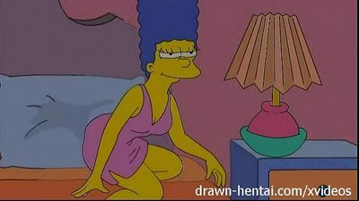 Lesbian Hentai - Lois Griffin and Marge Simpson - 5 min