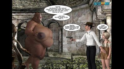 3D Comic: Neue Rasse 9-10 - 24 min HD