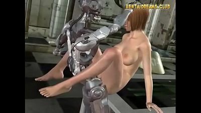 Robot Fucks Hot Hentai Girl - More at WWW.HENTAIDREAMS.CLUB - 5 min