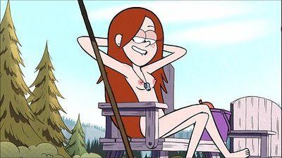 Disney Gravity Falls Wendy Redhead Porn/Hentai - 5 min