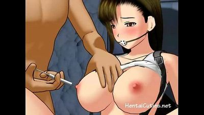 Busty anime cutie tortured and fucked - 5 min