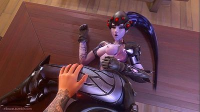 Widowmaker sex w/ sounds - Overwatch - 20 sec