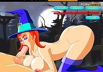 Robin and The Witches Get Into An Insane Orgy