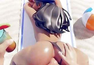 Overwatch new Ana fucking gif december