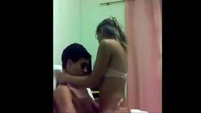 Casal novinho metendo - young couple in love - 6 min