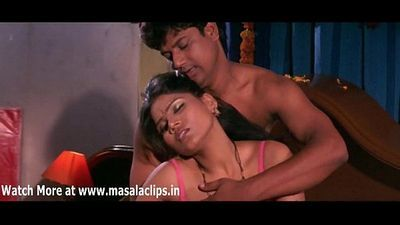 Unknown B Grade Actress Hot Bedroom Scene - 6 min