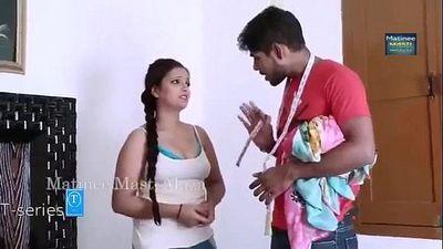 New Hindi short Film BEAUTIFUL BHABHI S HOT ROMANCE WITH TAILOR - 4 min