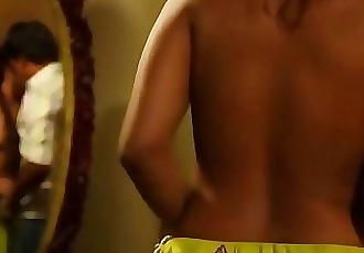 Indian actress Sri Reddy boobs pressed 50 sec HD