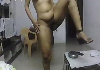 Indian horny lily masturbation - 12 min