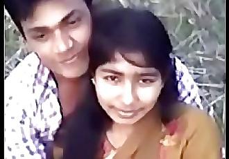 Cute Desi village girl boobs pressing by Narsingbari 4 min