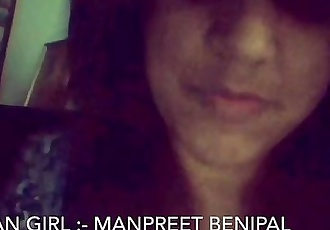 Desi Punjabi Girl Manpreet Showing Herself on Cam - 12 min