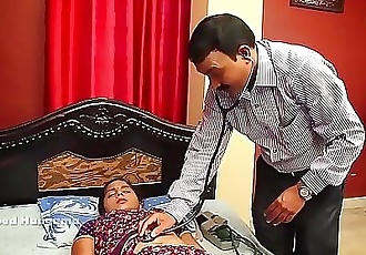 INDIAN HOUSEWIFE STOMACH DOCTOR 5 min HD