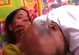 Indian Grandpa and Grand Daughter Play for Money @worldfreex.com 6 min