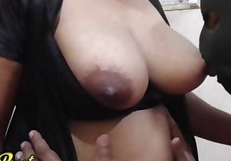 Indian Neighbour Wifes Big Boobs Sucking When Husband Went Office