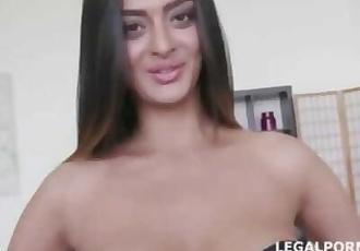 Desi Indian slut Latoya devi double vaginal dap gangbang fuck