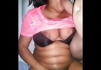 Desi Aunty Sucking Dick and Squirting