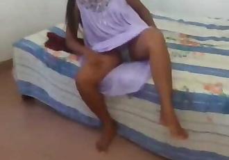 Srilankan Desi Indian Teen Couple Homemade Sex අමාරුයි අයියේ හෙමින්..