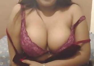 Hottest Desi CamSex Talking Dirty in Quarantine Lockdown Big Tits Wet Pussy