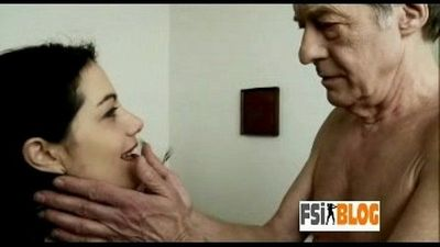 Punjabi NRI girl makes her old British lover cum - 2 min