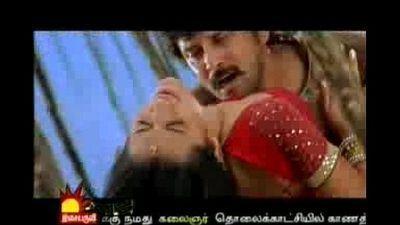 Trish hot with Vikram Bheema - 30 sec