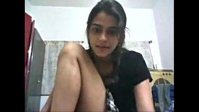 sexy desi girl alone at home - 3 min