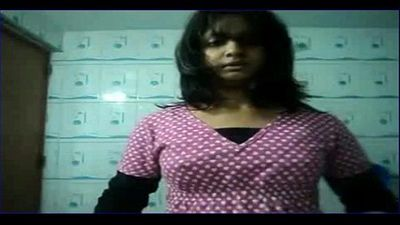 Indian IIM girl stripping for IIT boyfriend camstrip cute teen young desi girl - 1 min 35 sec
