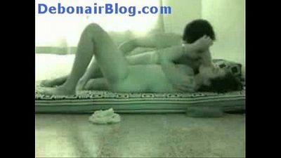 Horny indian couple hidden cam sex in new flat at honeymoon - 2 min