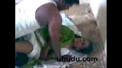 Tamil Village bhabi in under construction building captured - 2 min