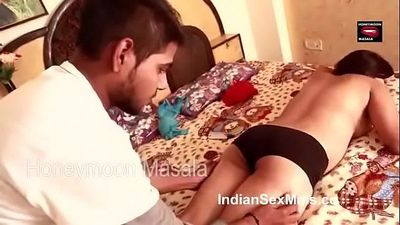 Hot bhabhi massage and romace with brother - - 8 min