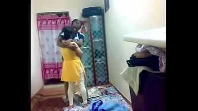 Desi couple sexy seen in house - HornySlutCams.com - 9 min