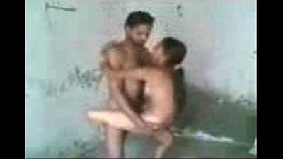 Horny Punjabi wife sucks and fucks standing Sardar, Punjabi village sex - 7 min