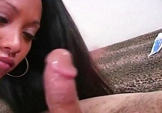 Huge tit Thai girl gets the biggest cum facial! - 6 min