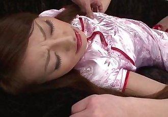 Yuu Kusunoki likes having her wet vag drilled hard - 12 min