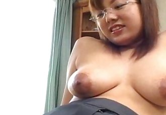 Busty Japanese babe fucked at home uncensored - 7 min