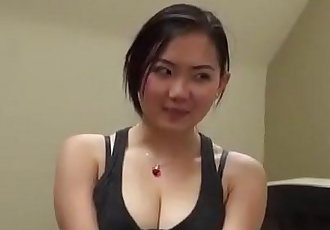 Very cute Asian gives perfect blowjob - 5 min