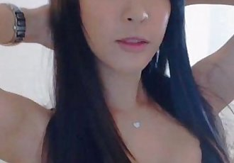 Cute Asian Girl hot strip on Webcam - for more visit pornvideocorner.com - 10 min