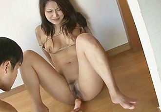 Saya Gets Her Pussy Fucked With A Vibrator - 8 min