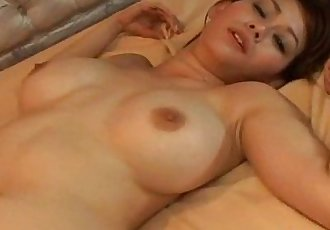 Sexy Rina Wakamiya fucked from behind - 8 min