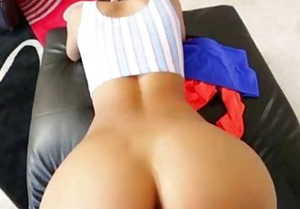 Sexy petite asian babe POV doggystyle - 5 min