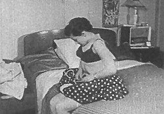 Vintage Porn 1950sShaved Pussy, Voyeur Fuck