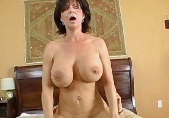 Mature Milf Deauxma Rides Her Boy Toys Big Cock!HD+
