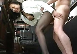 Sex fantasy stockings japanese sexy wife - 4 min