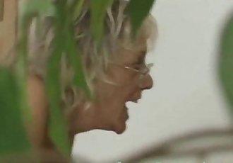 Big tit granny threesome - 5 min
