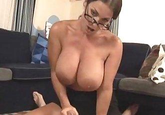 Hot Milf With Big Tits Handjob
