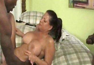 Son Ignores Interacial Mom Fuck - 5 min